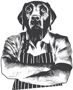 If dogs could cook, they wouldn't
